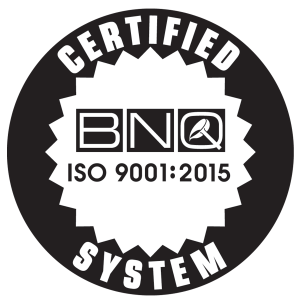 Certification ISO9001:2015