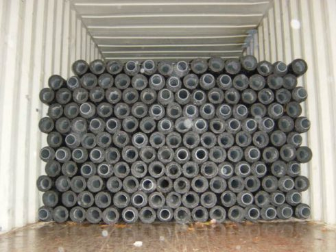 Maritime container - Urtech system - preinsulated pipe
