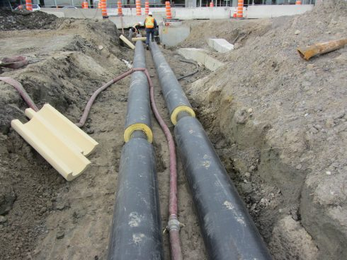 Preinsulated pipe network - Urtech System (2)