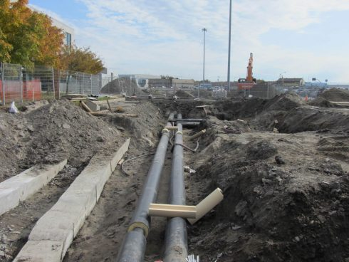 Preinsulated pipe network - Urtech System