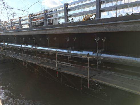 Tuyauterie préisolé polyuréthane - dessous pont - Urtech (4)