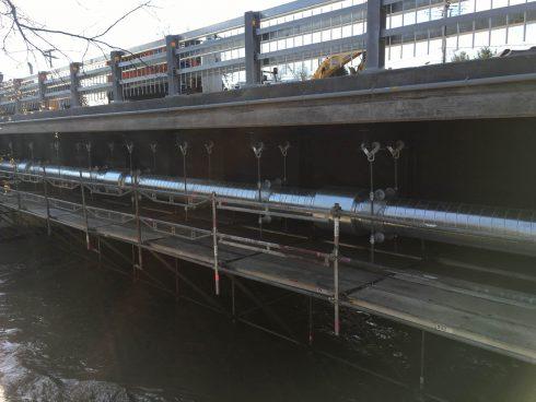 Tuyauterie préisolé polyuréthane - dessous pont - Urtech