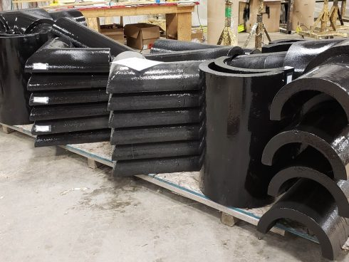 Urecth shell for pipe