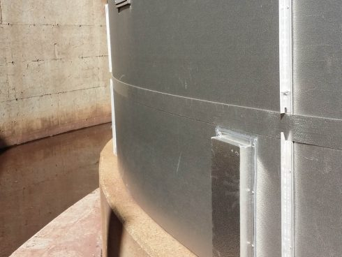Urtech insulating pannels for tank (16)
