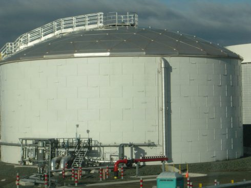 Urtech insulating pannels for tank