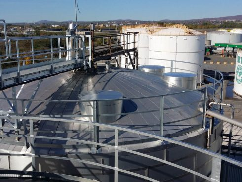 Urtech insulating pannels for tank (8)