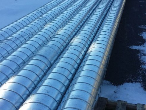 Urtech system - preinsulated pipe with polyrethane