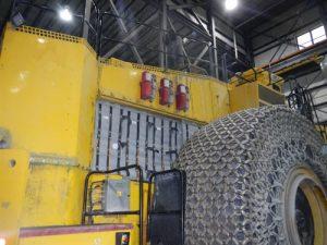 Couverture acoustique pour véhicule (mine)
