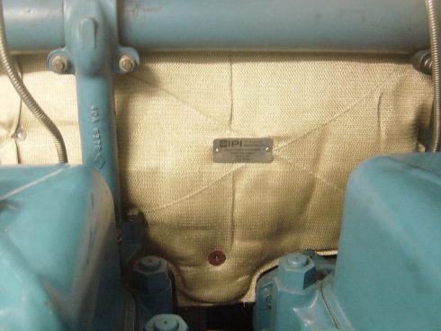 Motor insulation - ship
