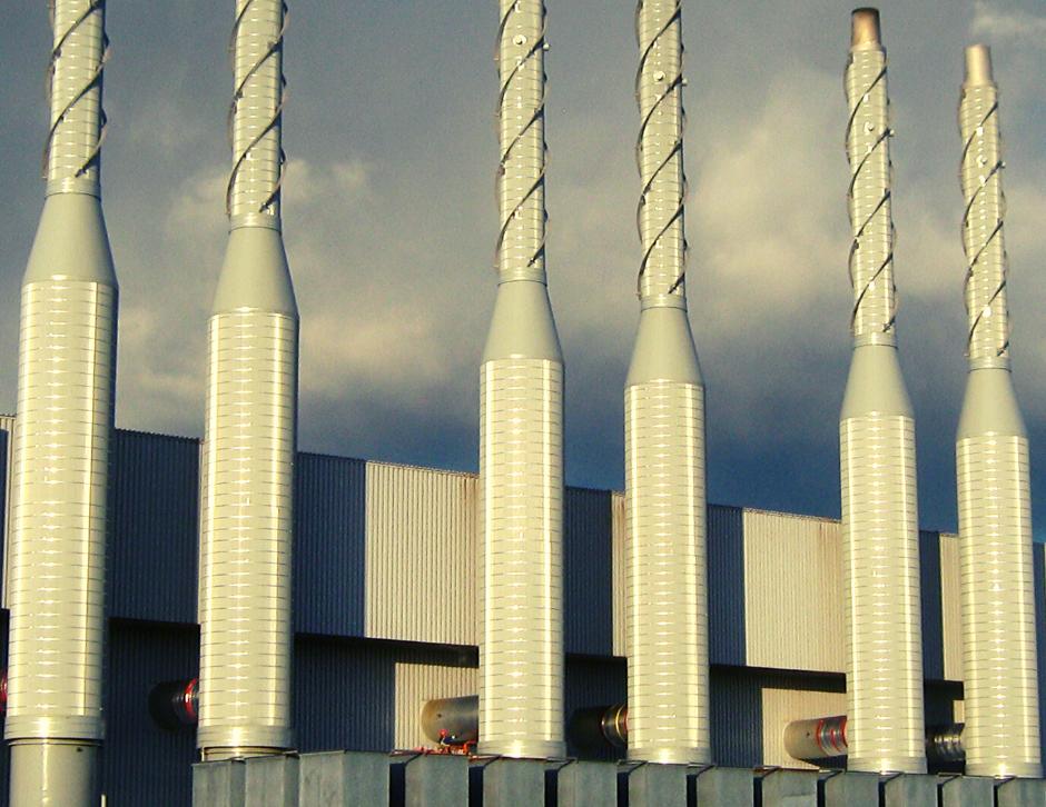 Isolation thermique de cheminée