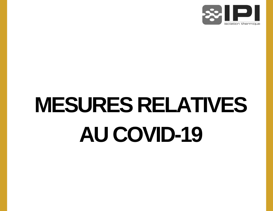 mesures relatives au covid-19