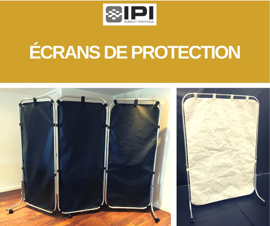 écrans de protection Covid-19 pour lits ou bureaux