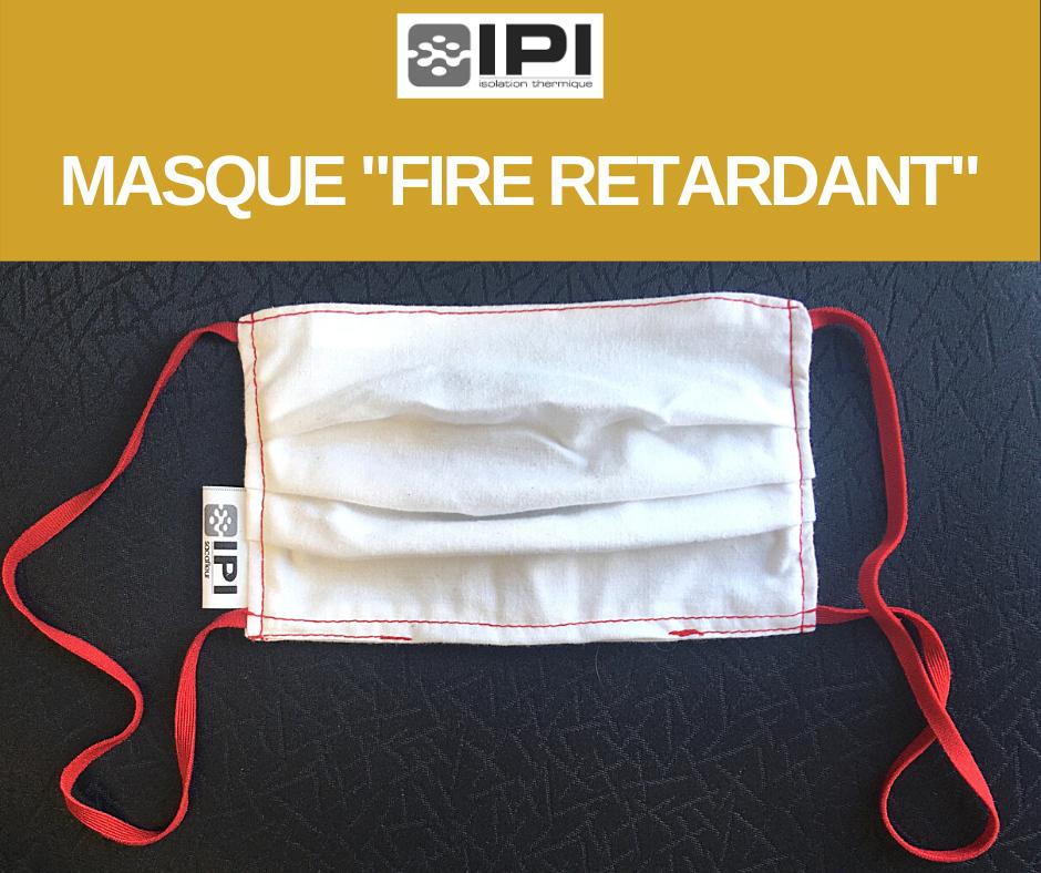 masque de protection - covid-19 (fire retardant)